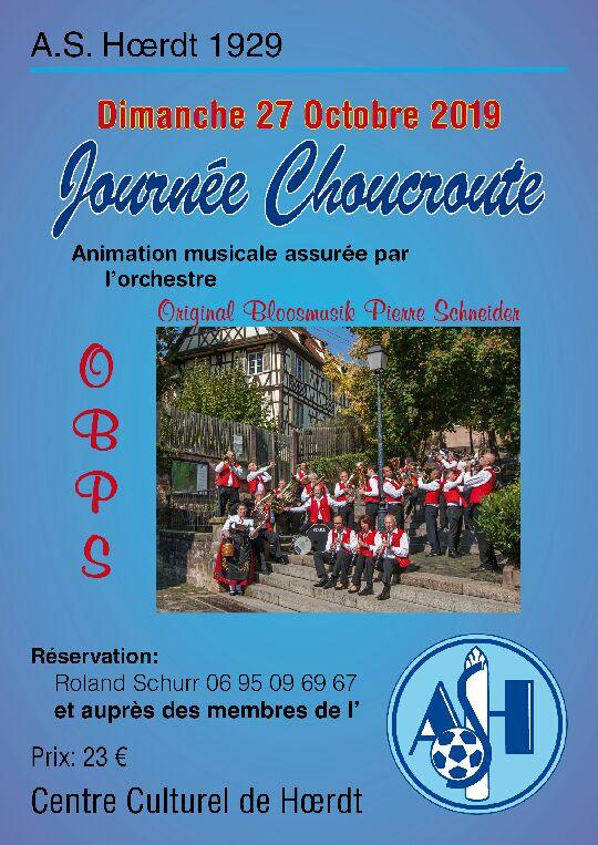 Choucroute 2019